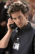 Kirk Cameron, seen here hoping to be the 97th caller to win Justin