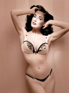 your eyes on Dita Von Teese  This comely young lady is a model