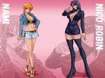 One Piece Nami & Robin | One Piece Nami