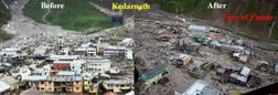 : Support Uttarakhand flood victims : Appeal by Seva Bharati