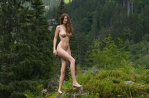 Adult Walls: Naked Babe In Forest