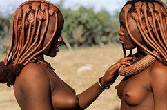 These Are Ethiopian Girls Walking Nude in Some Regions Of Ethiopia Is