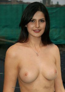 Zarine+Khan+Topless+Showing+Nude+Boobs jpg