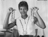 Wilma Rudolph, Rome, 1960