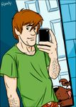 Randy/Toons: Shaggy Posing Naked