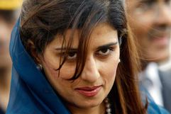 Khar, 34, Pakistan's first woman foreign minister and also the