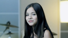 Loves Her Life: 10year old Angie Vazquez of Vazquez Sounds