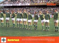 Foto hist�rica  Irlanda do Norte 1982