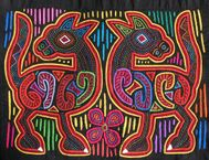 The Golden Fingers: Molas: Textile Art of Kuna People