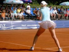 Piano and A little Boy: Jelena Dokic Upskirt Pics on Tennis Fields