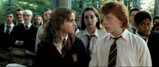 Lol At Hermione And Ron Holding Hands They Should Really Just