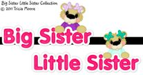 Little Scraps of Heaven Designs: Big Sister Little Sister Bears