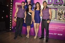 Chitrangada Singh & Deepika Padukone dancing at Enigma sexy legs pics
