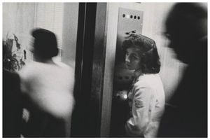 Art of Portraiture: Robert FRANK: Elevator Girl