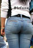 Divine Butts  Voyeur Blog: Cute Candid Ass in Jeans