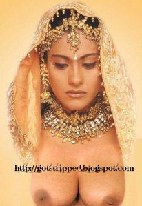 others stripped + on request stripp: Kajol as Bride Breasts Exposed