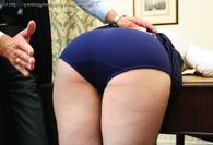 Mr Tawse: Navy Blue School Knickers