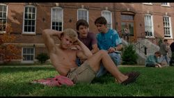 wil wheaton mark getz sean astin shirtless barefoot naked in toy