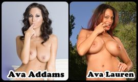 Neckties For Reptiles!: You Choose: Ava Addams or Lauren