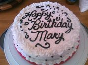 Magna Made Cakes: Mary's Birthday Cake
