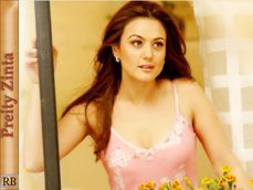preity zinta close up