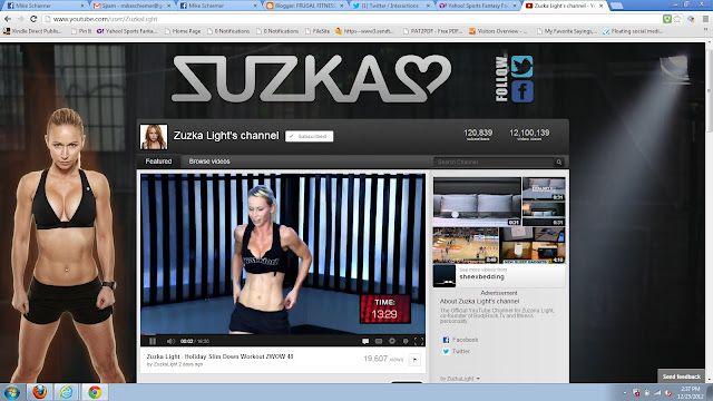 Swedish Fitness Model Zuzana