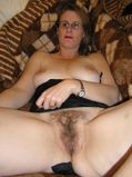 mature chubby with hairy pussy