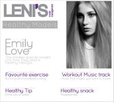 Leni's Model Management: Healthy Models  Emily Love