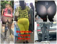 exposed, see through leggings, camel toe) as these fashion victims