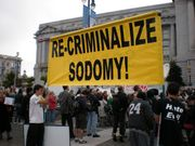 Unspoken Issues: Sodomy Is A Constitutional Right