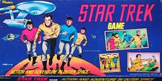 and Classic TV: Star Trek Week: Star Trek Board Game ( Hasbro; 1974
