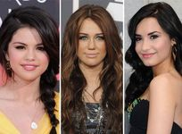 Selena Gomezes: Selena Gomez, Miley Cyrus y Demi Lovato: �Sacar�n