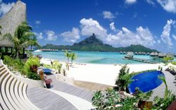 Bora Bora, Paradise Island  French Polynesia ~ Holiday Destinations