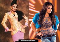 Haifa Wehbe Before (L) and After (R)