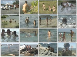 The Cult of Nudity: Naked Adventures by Azov Sea 2002 - Part One