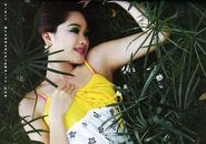 Myanmar Beautiful Model & Actress, Moe Yu San's Pretty Outdoor Fashion