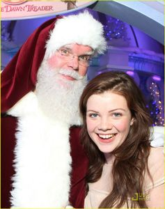 georgie-henley-will-poulter-lighting-ice-palace-06 jpg
