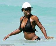 Serena Williams Breast