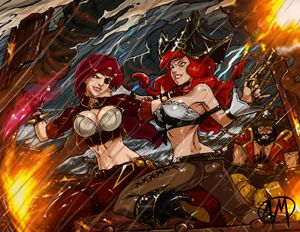 Ganassa's Artwork Gallery: League of Legends BilgeWater Gallery