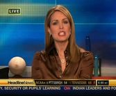 Christi Paul  brown satin blouse