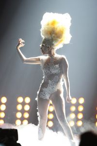 Lady Gaga showing her pussy on Brit Awards - Lady Gaga - Zimbio