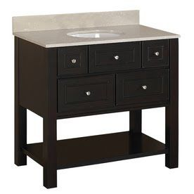 We are thinking of a vanity kind of like thisI think M prefers the