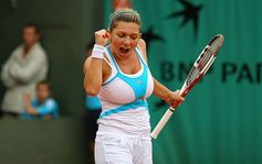 Simona Halep hot plyer