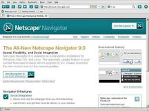 Netscape Navigator 9 0 | Freeware Reviews