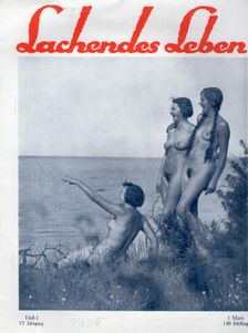 Lachendes Leben,German FKK magazine published from 1925-1933No1,1930