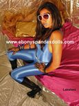 KinkyBitches xxx: CHRISTMAS EBONY SPANDEX DOLLS UPDATE