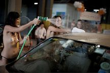 Singapore topless car wash