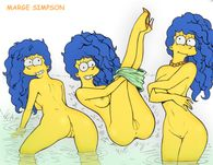 MargeSimpson+TheSimpsons+skinny+dipping jpg