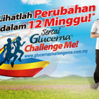 Cabaran Glucerna Challenge Me Perubahan Dalam 12 Minggu