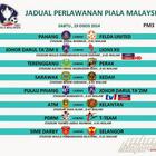 Jadual Siaran Langsung Piala Malaysia 23 Ogos 2014   ROSSA CALLA